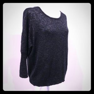 Mossimo black sparkly sweater